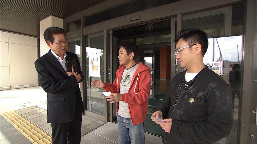 浜田の仰天発言から、奈良市役所をアポなし突撃! 写真提供:MBS