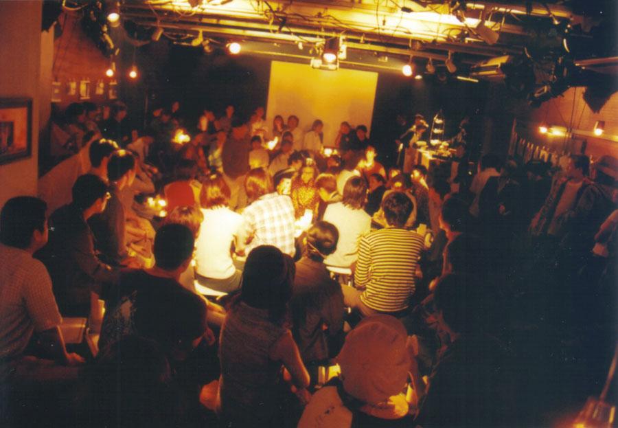 2002年におこなわれた劇場プロデュース公演『cafe independent』より