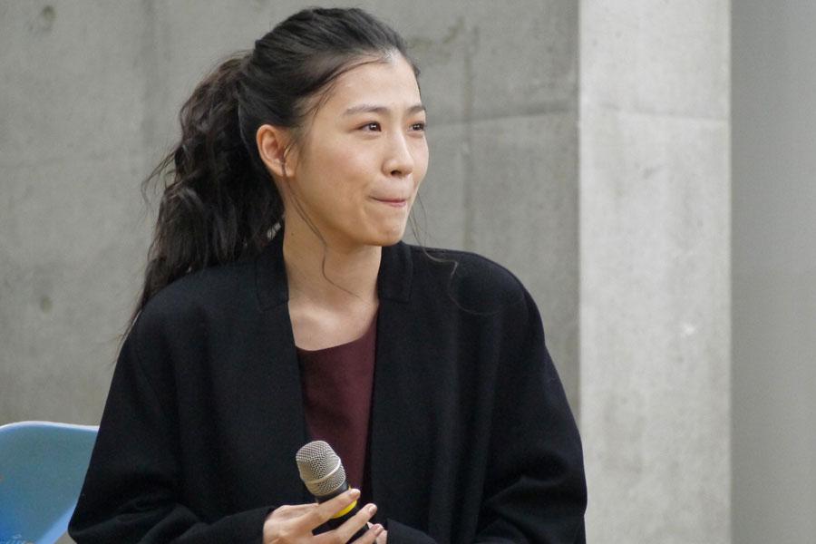 ヒロイン・福子の友人・池上ハナを演じた呉城久美