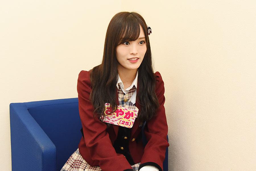 収録後、今後の活動について語ったNMB48・山本彩