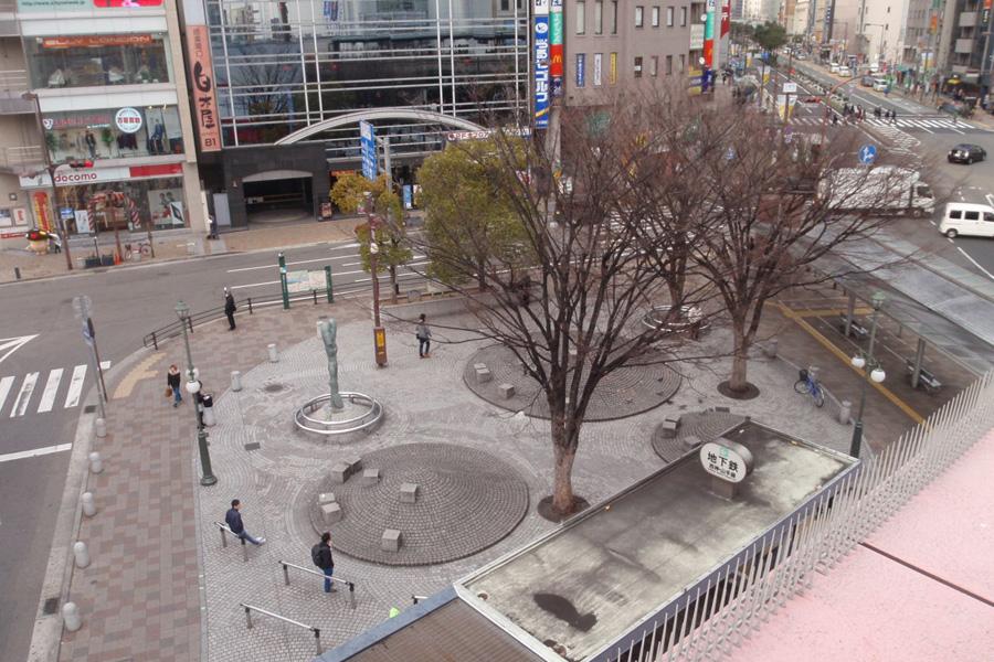 従来の「さんきたアモーレ広場」