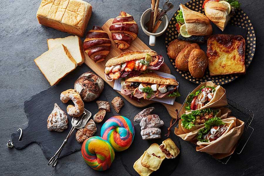 ファラフェルサンド、クロックムッシュなど、作りたてのサンドイッチも登場予定