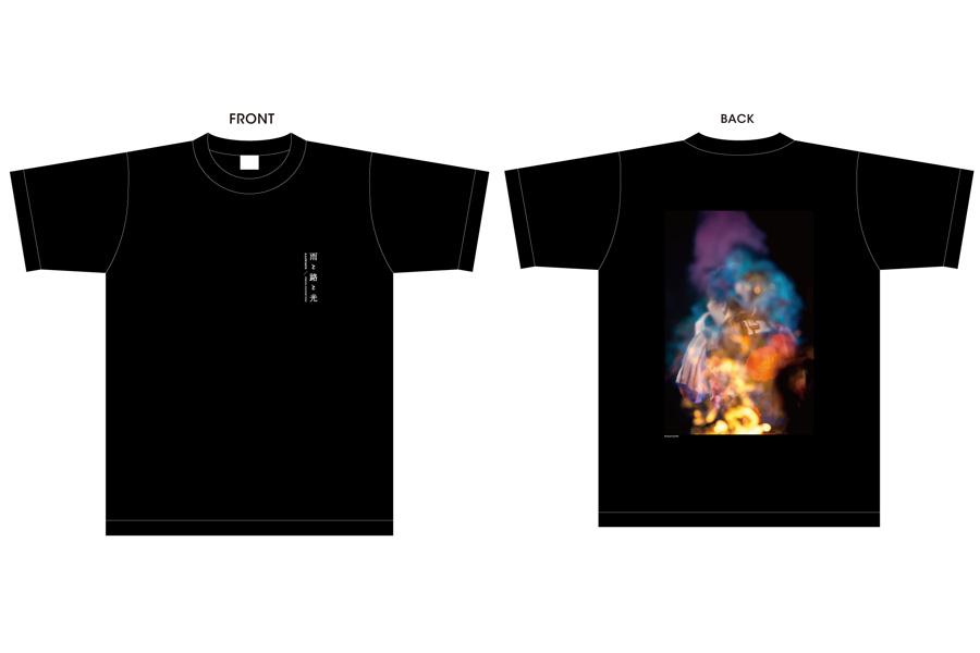フォトTシャツ ブラック(4000円・税抜)
