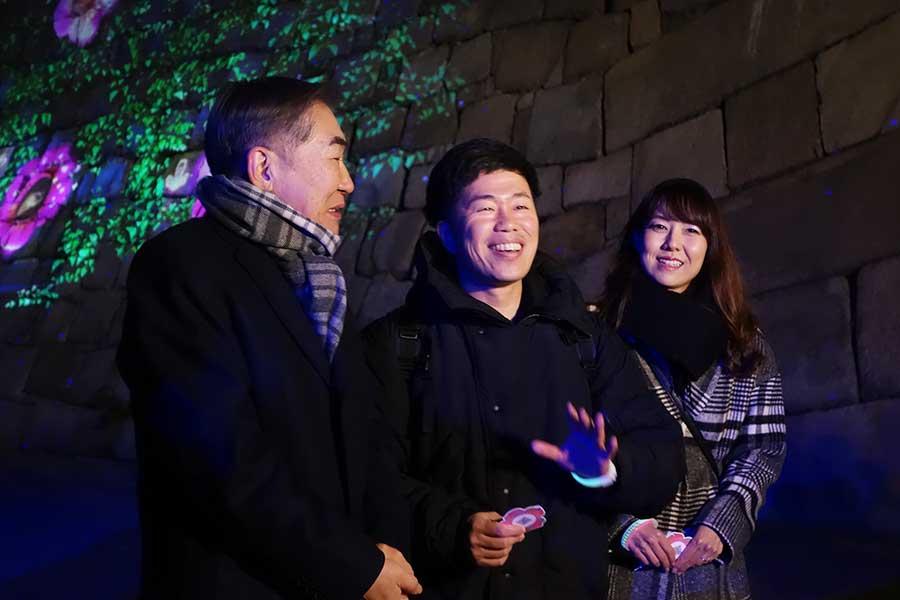 桂文枝、吉田裕と妻の前田真紀は一緒に巡り、「一人で回ったらどうかなと思いますけれど、みんなでまわったから楽しかった」(桂文枝)