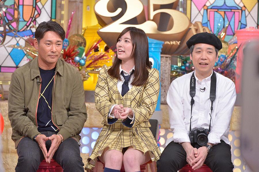 中央がSKE48の松井珠理奈 © ytv
