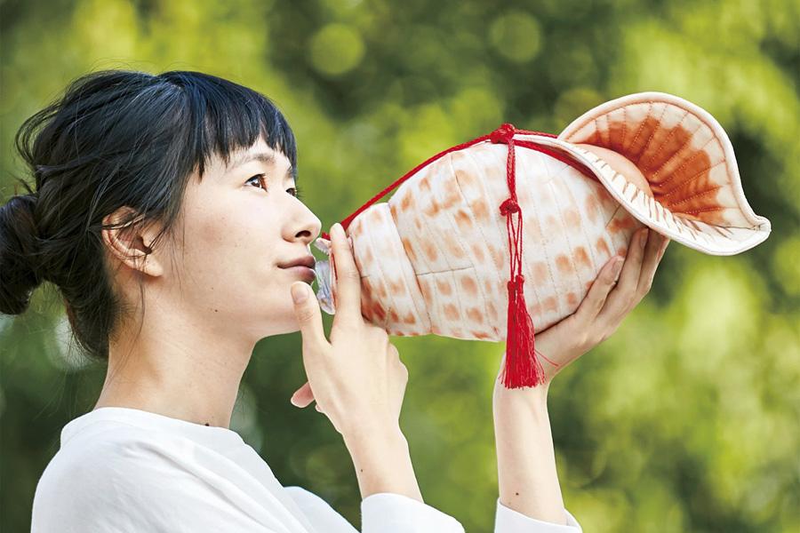 「吹いてる!? 飲んでる! ほら貝ペットボトルケース」(3672円)