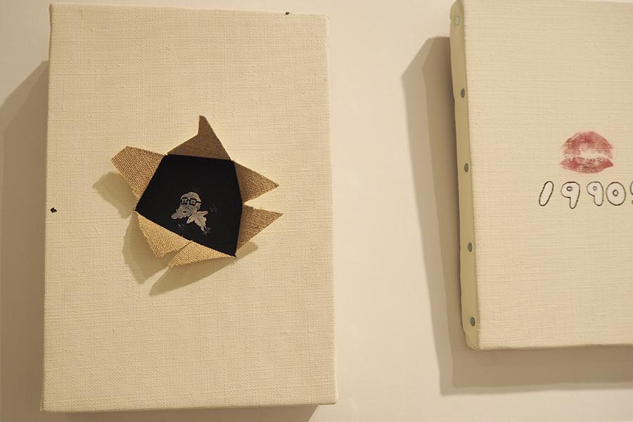アインシュタイン稲田のアート作品『俺に3000円使わなかったらTシャツ1枚買えますよ?いいんですね?」(3240円)