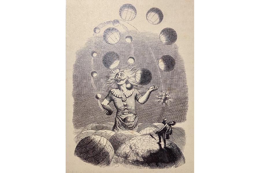 クイーンのアルバム「Innuendo」(1991年)の元絵となった「Jaggler of Universes(無限の謎)」