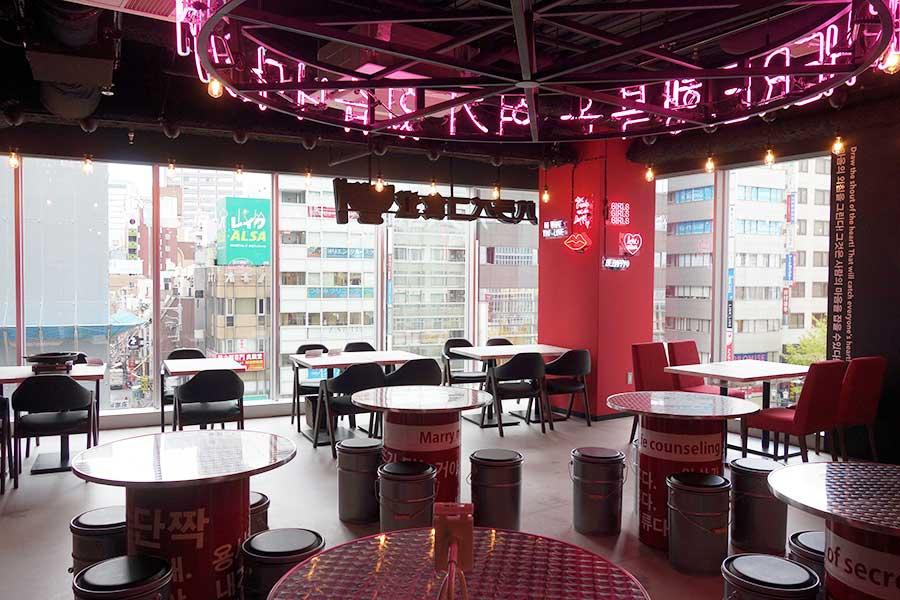 最新の韓国スタイルを取り入れた韓国料理 ハラペコ食堂
