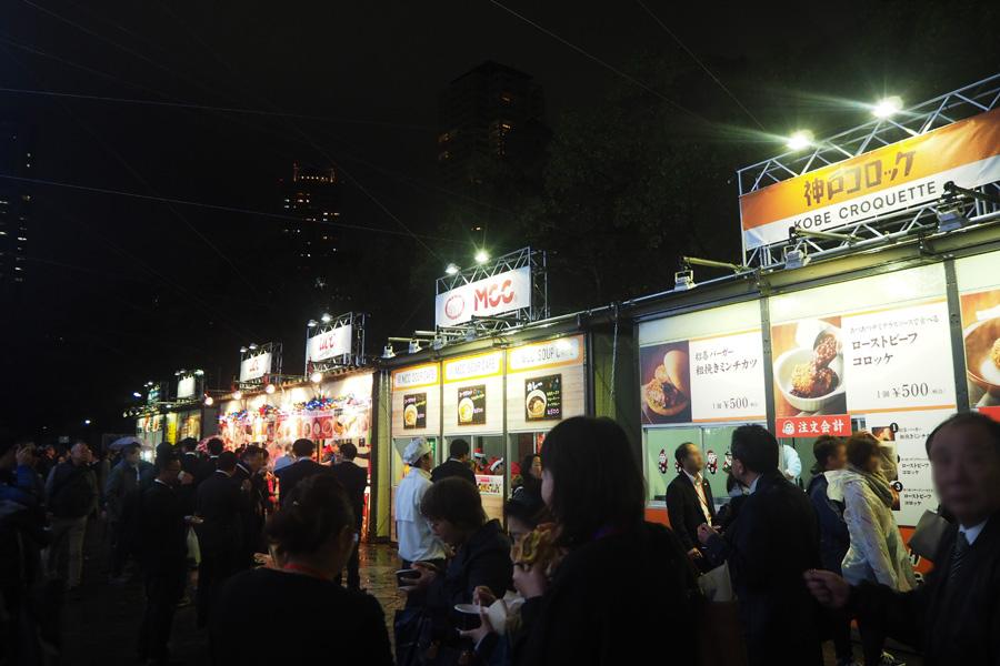 「UCC上島珈琲」「神戸コロッケ」「六甲バター」など神戸・兵庫を代表する14社が並ぶ