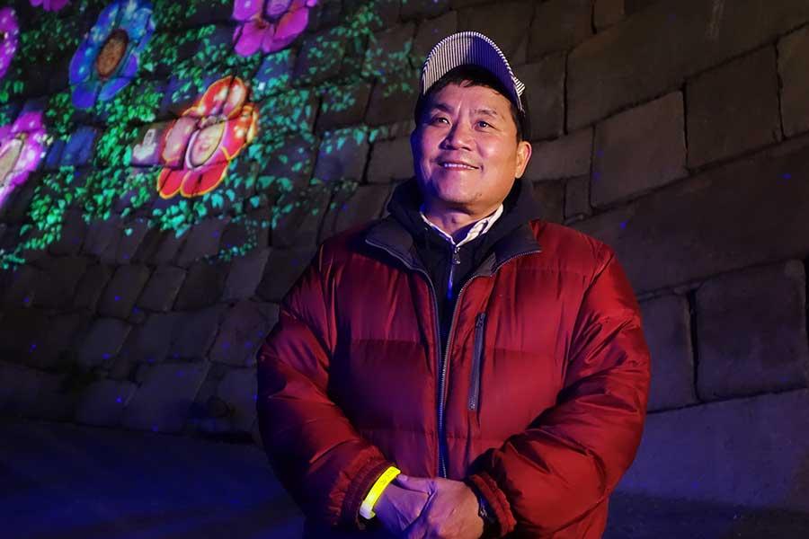 トミーズ雅は、「夜の大阪城公園はデートに使うといいかな」