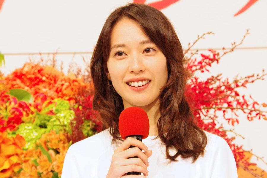 2019年後期の連続テレビ小説『スカーレット』のヒロインに起用された戸田恵梨香(2018年12月・大阪市内)