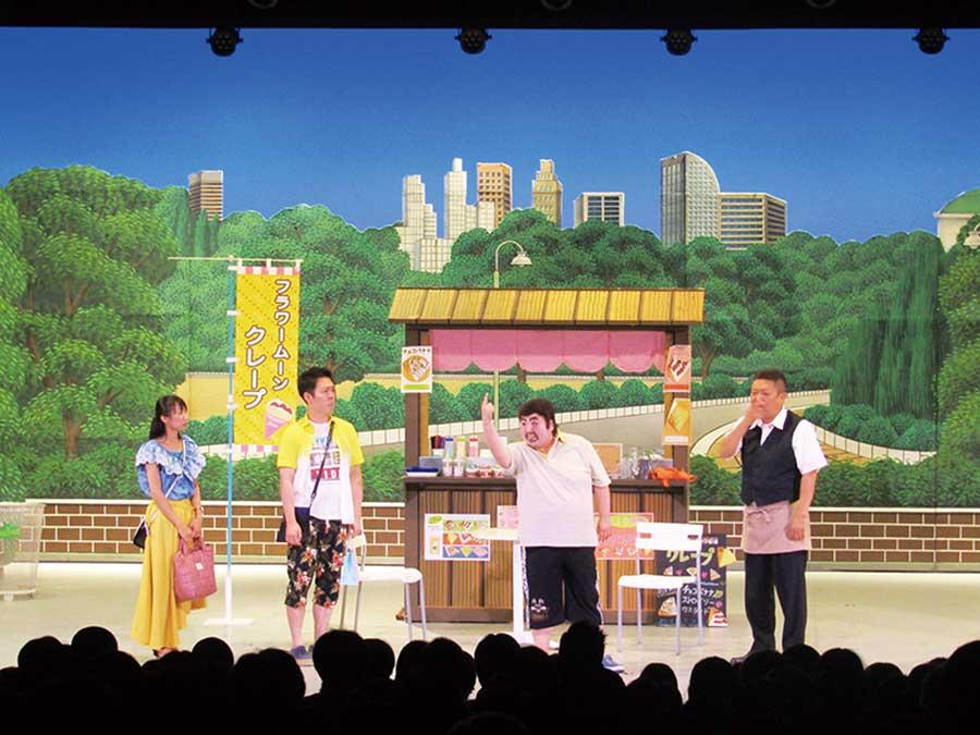 関西人なら慣れ親しんだ吉本新喜劇ⒸYOSHIMOTO KOGYO