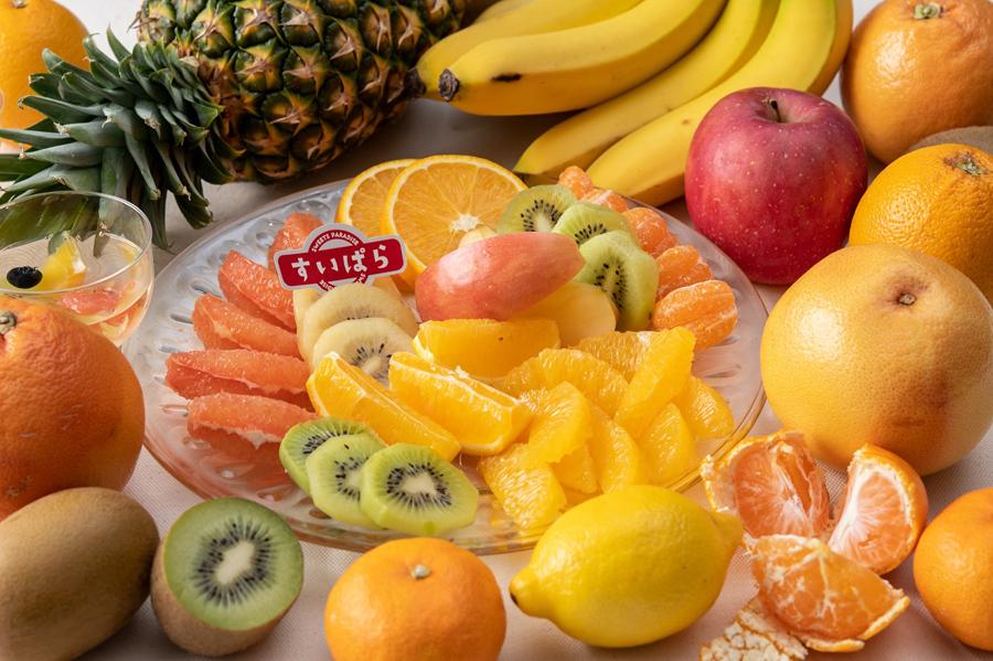スイパラで冬のフルーツ食べ放題