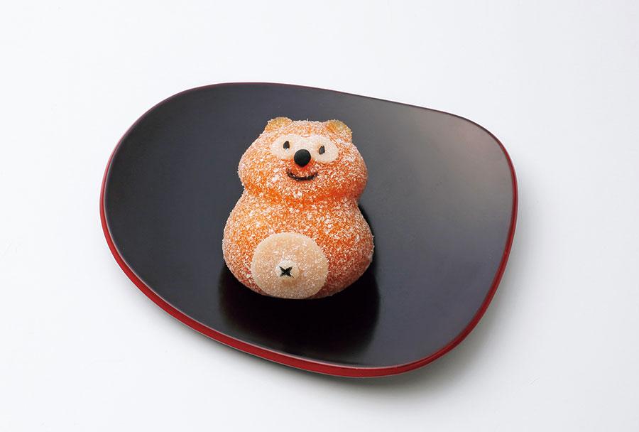 和菓子店「亀屋良長」で販売される「ポンタ餅」1個540円(各日10個限り) © Ponta