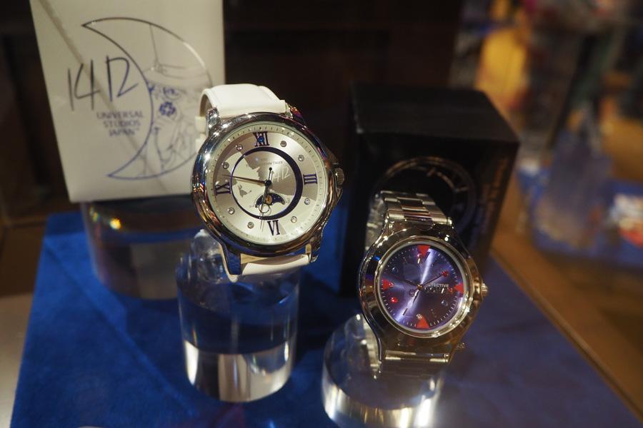 怪盗キッドの「ウォッチ」(8500円)、コナンの「腕時計型麻酔銃」(7500円)