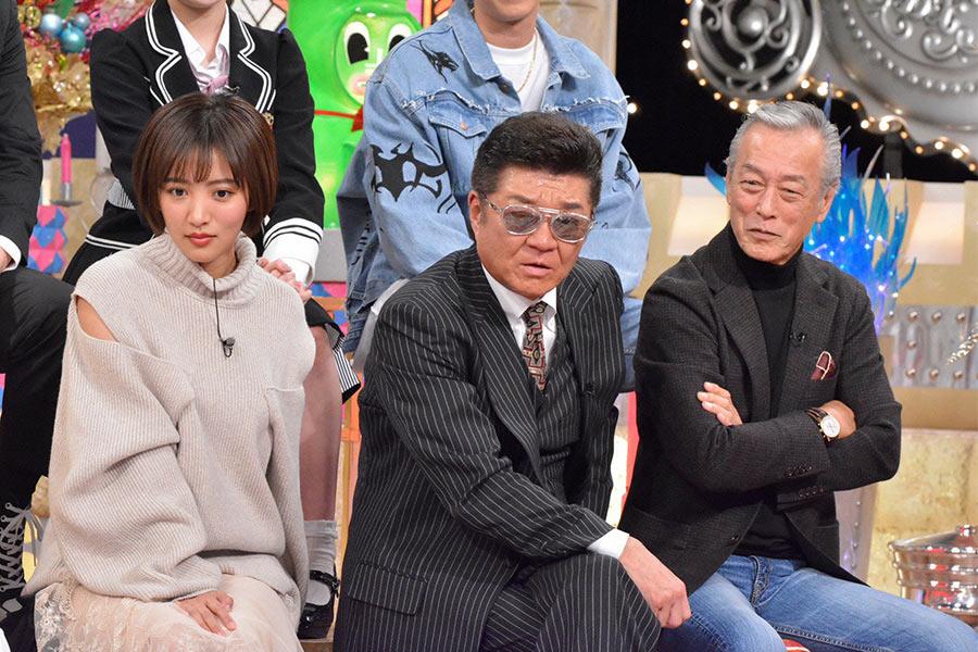左から、夏菜、小沢仁志、岩城滉一 © ytv