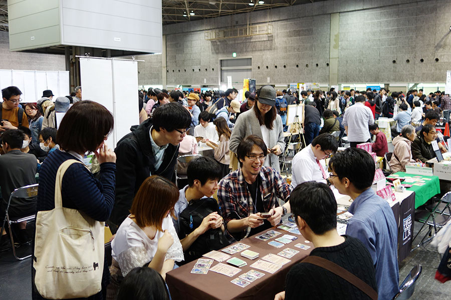 『ゲームマーケット』大阪会場で昨年開催時の様子
