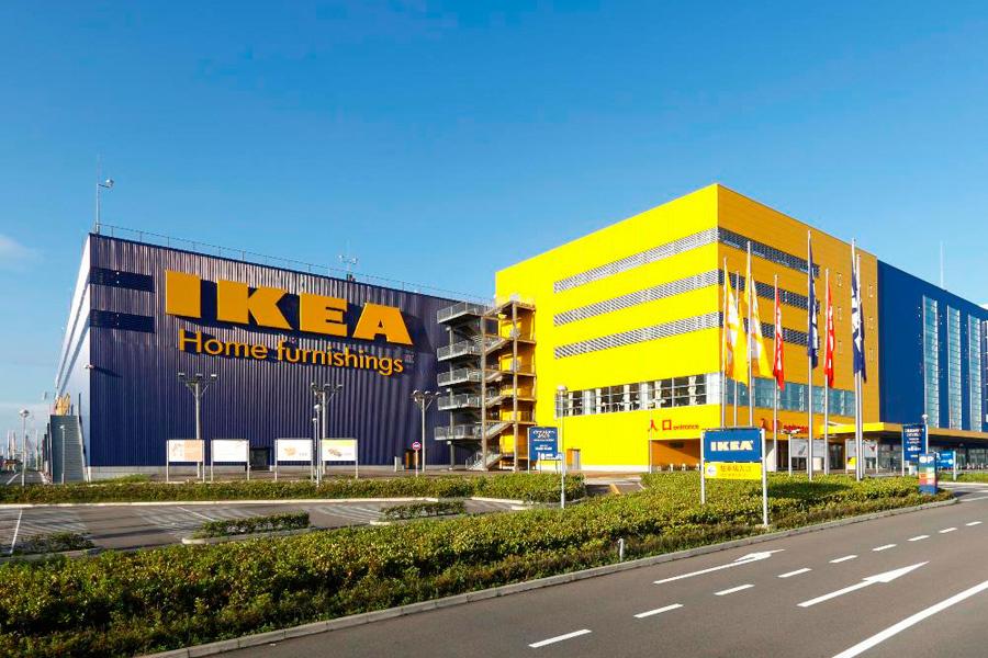 大阪市大正区にある「IKEA鶴浜」