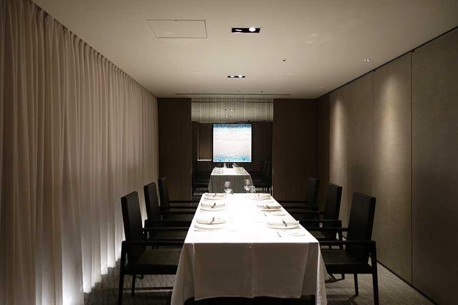 イタリアン「スカーラエ」の個室