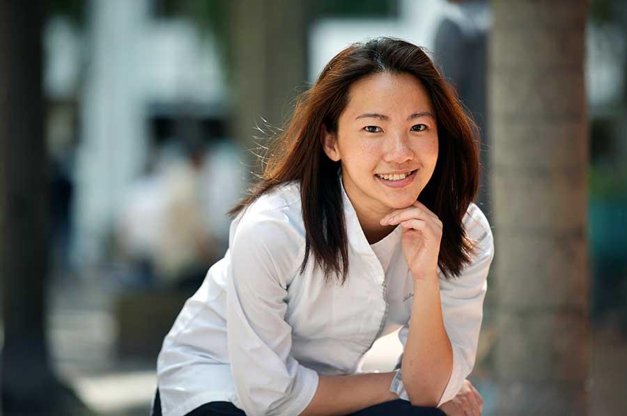 シンガポールや東京で、デザートのお店を構えるジャニス ウォン