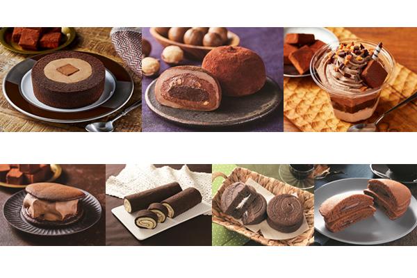 「ローソン」濃深生チョコロールケーキ、濃深生チョコ大福など全7品