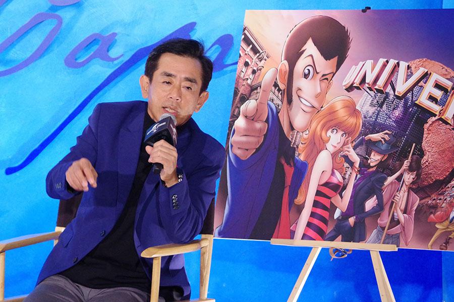 ルパン三世ファンとのトークセッションをおこなった栗田貫一(24日・ユニバーサル・スタジオ・ジャパン)
