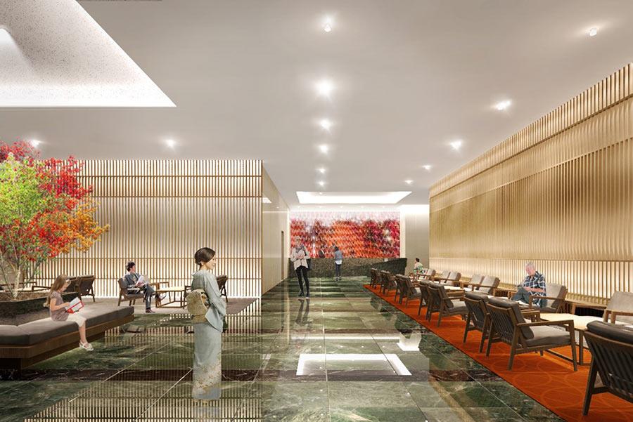 「ホテル オリエンタルスイーツ 関西エアポート」ロビーのイメージ