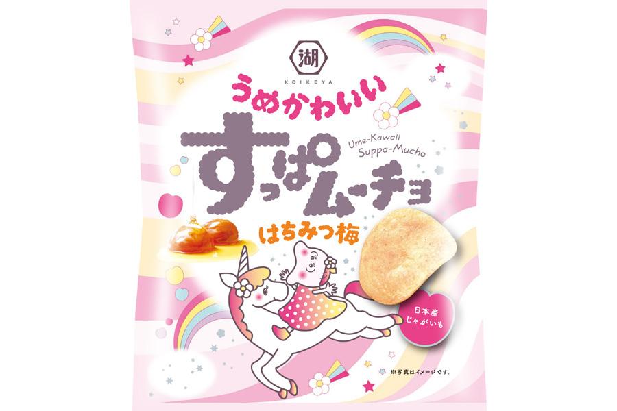 「すっぱムーチョうめかわいい はちみつ梅」(53g)
