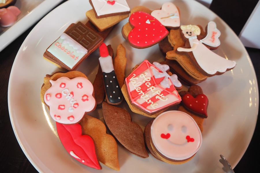 「パティスリーブーケ」のアイシングクッキー