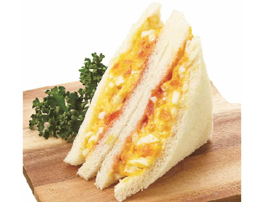 「ダイヤ製パン」は、黄味好きにはたまらない「黄味2倍のたまごサンド」を限定販売