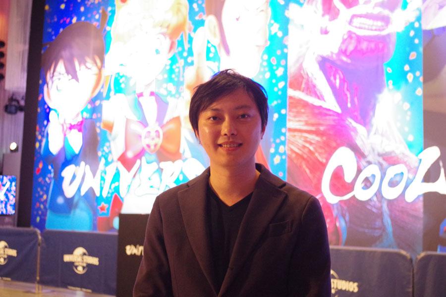 『ユニバーサル・クールジャパン』のプロジェクト・リーダーをつとめる吉岡達哉さん