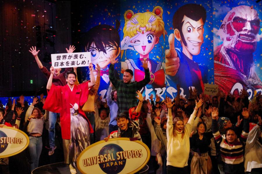 『ユニバーサル・クール・ジャパン 2019』のオープニング・セレモニーに参加した森崎ウィン