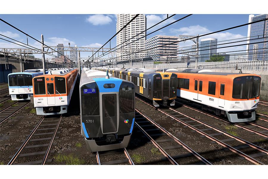 新登場する「阪神電車」の車両ビジュアル