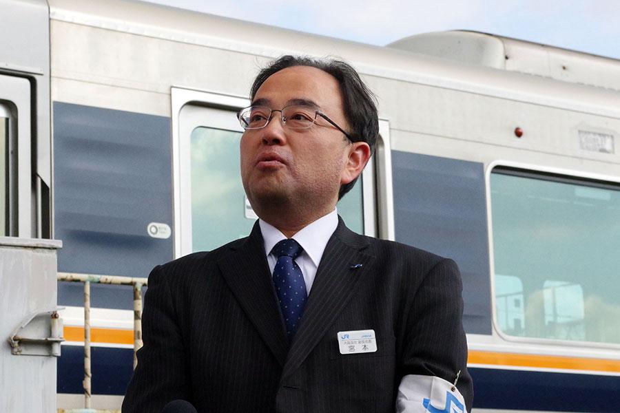 「おおさか東線」へ期待を込める「西日本旅客鉄道」宮本芳明大阪支社副社長