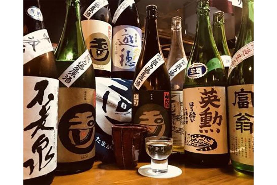 日本酒飲み比べが楽しめるバル「茶屋町Marry」