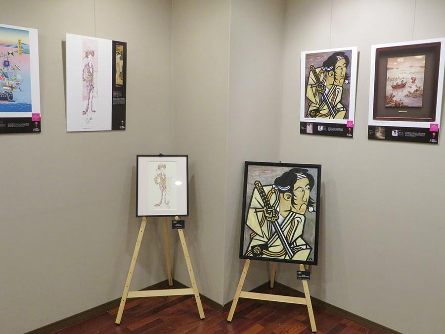 「ART GUSH 予告展」会場風景