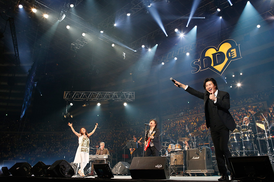 スタレビ・大黒摩季・SOSの豪華コラボで『愛の歌』を熱唱(23日・大阪城ホール)写真:LIVE SDD 2019 official Photo