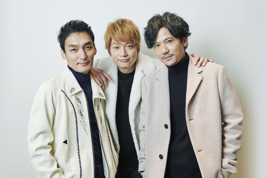 新しい地図(左から草なぎ剛、香取慎吾、稲垣吾郎)