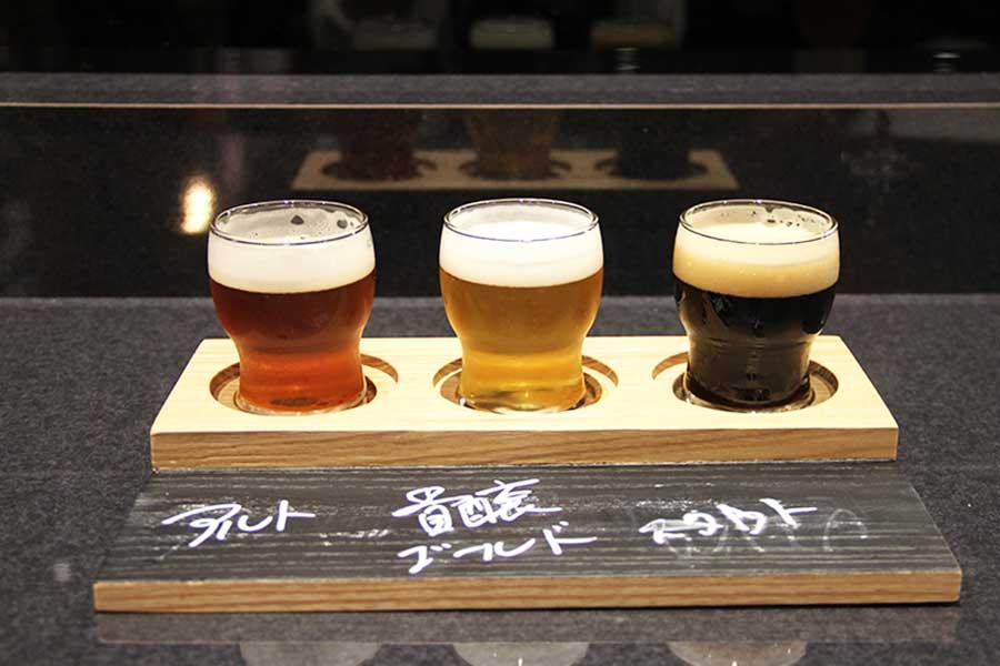 クラフトビール飲み比べのセットは「DRAFT PUB Bevvy」で販売
