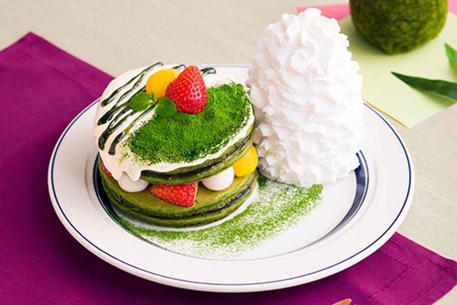 期間限定で発売される「宇治抹茶のティラミスパンケーキ」
