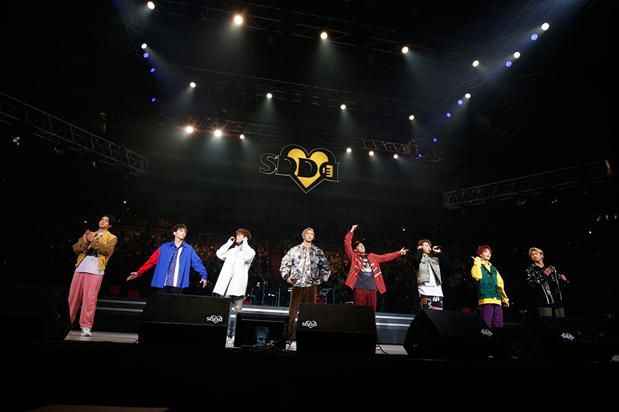 『LIVE SDD 2019』に登場したFANTASTICS from EXILE TRIBE(23日、大阪城ホール)写真:LIVE SDD 2019 official Photo