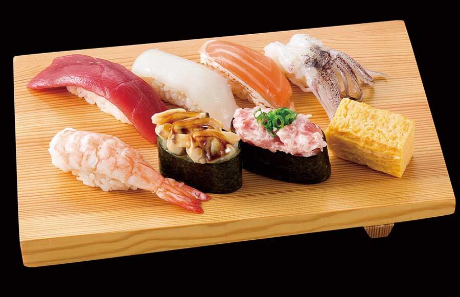 「寿司魚がし日本一」は1貫でのオーダーも可