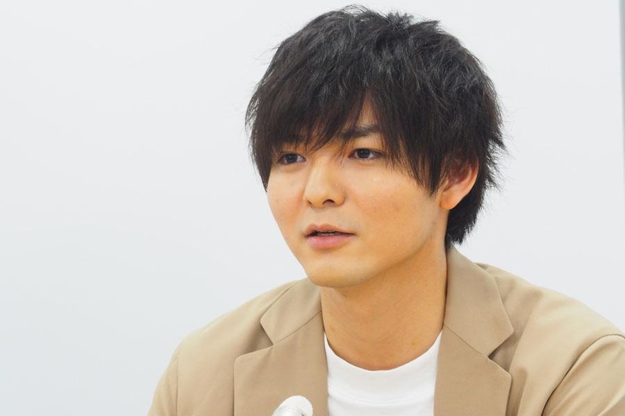 「少年隊の東山(紀之)さんから『(演出家)栗山さんについていけば大丈夫だから』とお言葉をいただいて、すごくうれしかった」と薮宏太(31日・大阪市内)