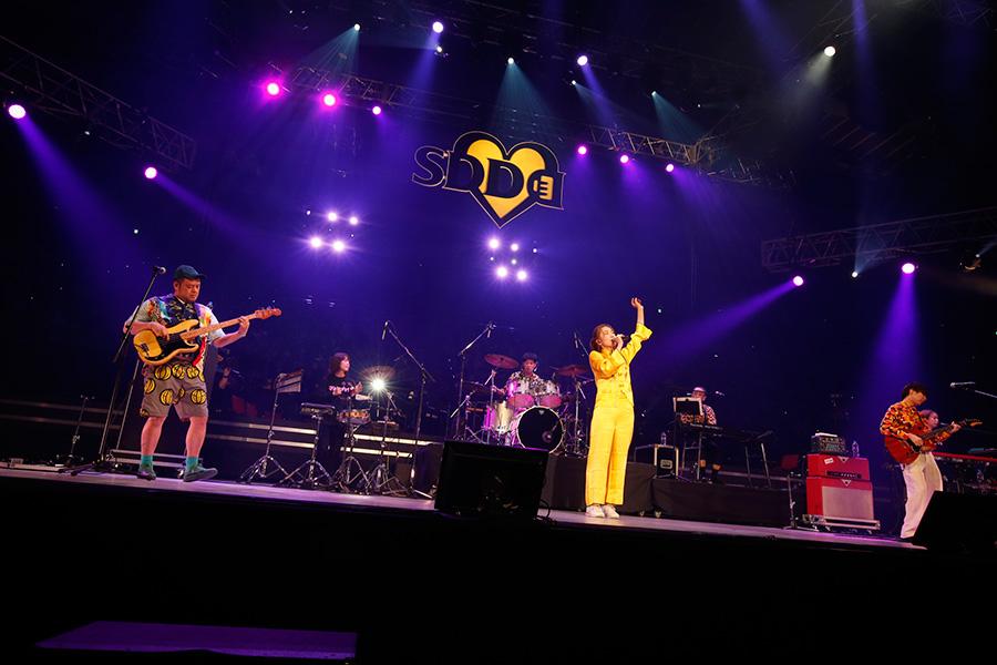 『LIVE SDD 2019』で3曲を披露したジェニーハイ(23日・大阪城ホール)写真:LIVE SDD 2019 official Photo