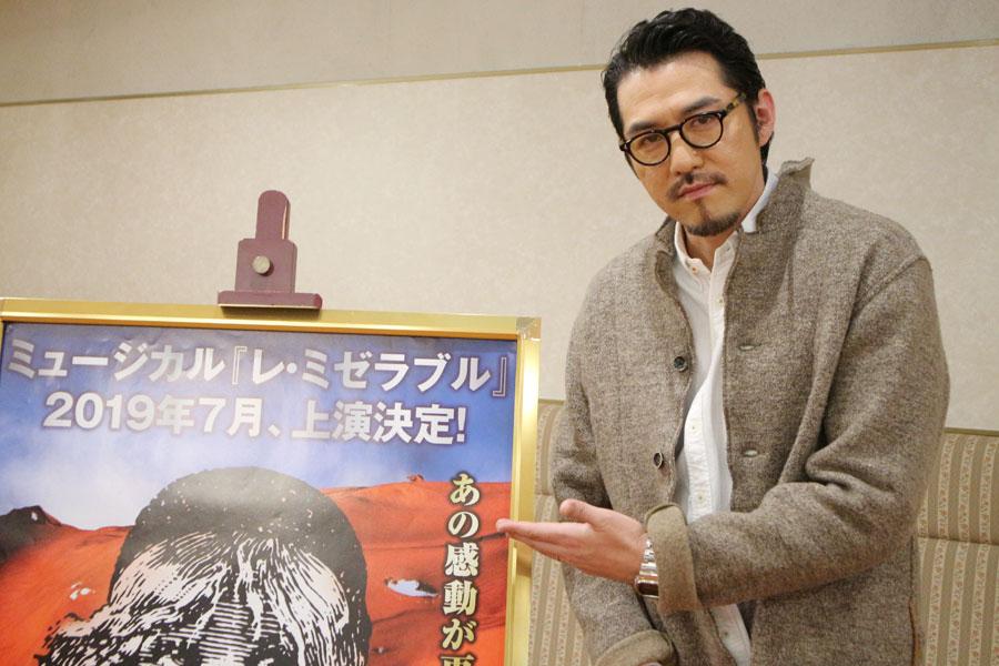 ミュージカル『レ・ミゼラブル』で2011年よりジャン・バルジャンを演じる吉原光夫