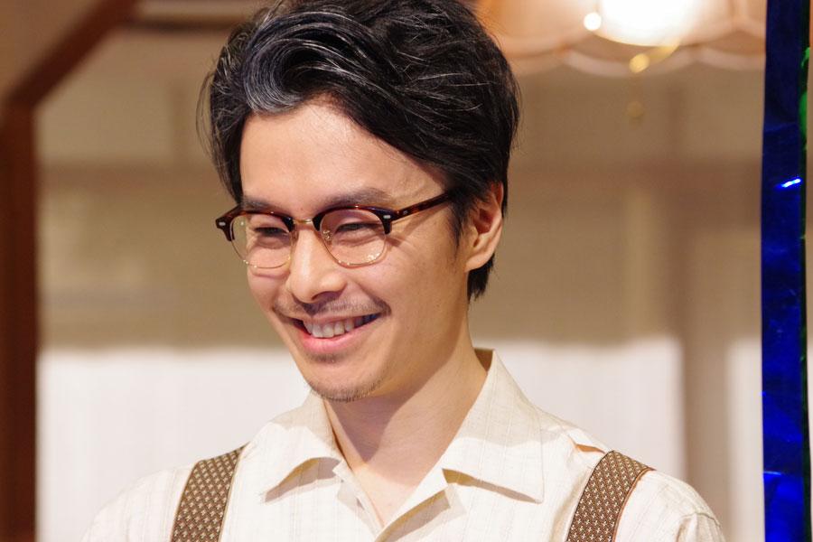 立花萬平を10カ月演じ通し、安堵の表情を見せる長谷川博己(27日・NHK大阪放送局)