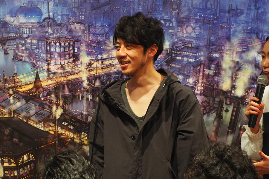 「VR ZONE OSAKA」でおこなわれた上映会に登場した西野亮廣(16日・大阪市内)