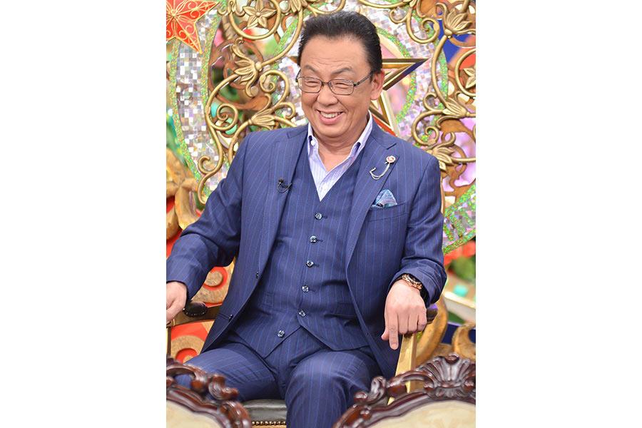 満面の笑みを浮かべる梅沢富美男