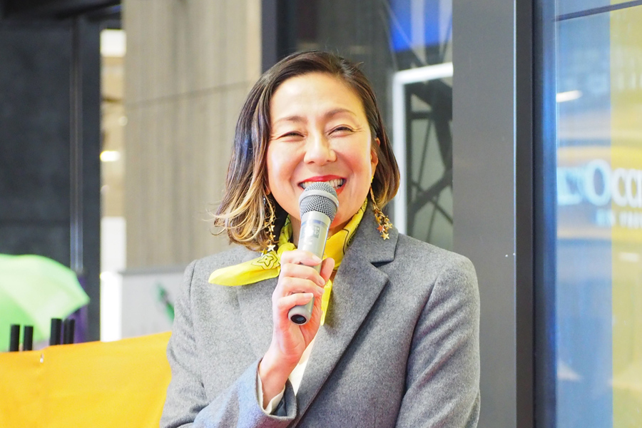 「大人の食育」についてトークを繰り広げたRIKACO(24日・大阪市内)